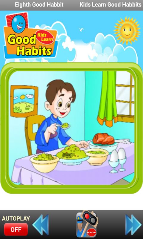 Good Habits For Kids PNG