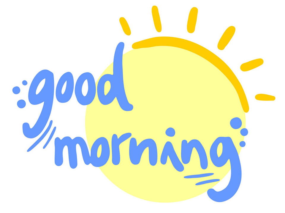 Good Morning - Good Morning PNG