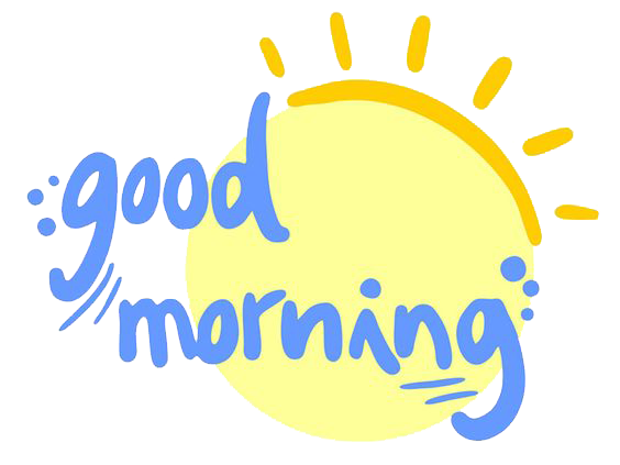 Good Morning PNG - 24387