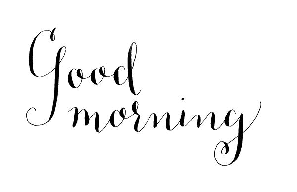 Good Morning PNG - 24380