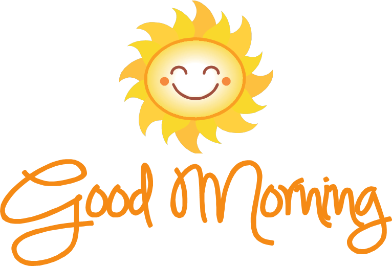 Good Morning Png image #33243