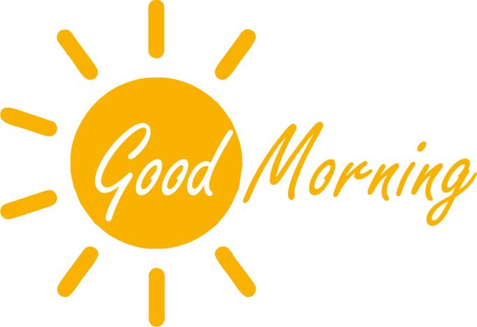 Gud Morning Logo - Good Morning PNG