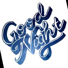 Good Night. u201c - Good Night PNG