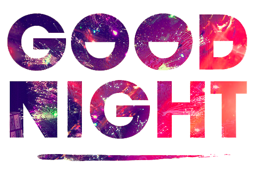 Good Night PNG - 8767