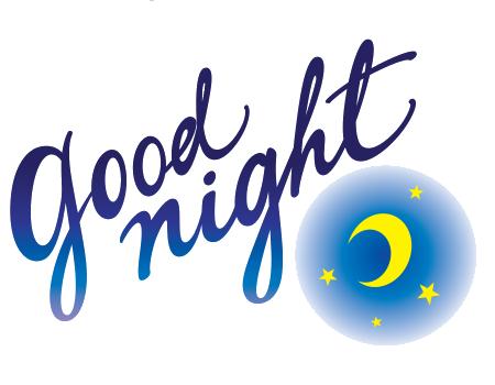 Good - Good Night PNG HD