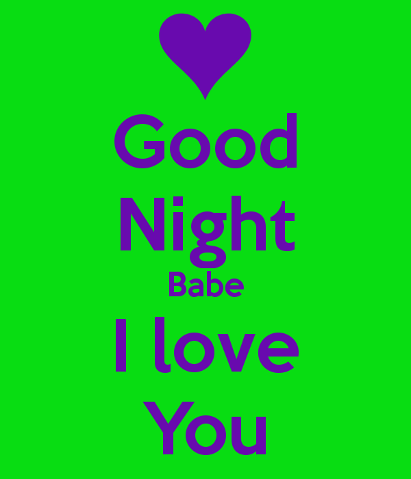 good-night-with-i-love-you-message - Good Night PNG HD