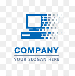 Blue Computer Technology LOGO Vector - Good Technology Logo Vector PNG