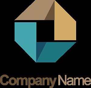 Circle 3D geometry shape technology Logo Template. Format: EPS - Good Technology Logo Vector PNG