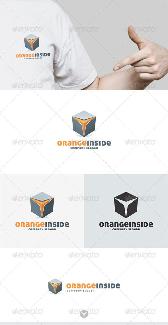 Orange Inside Logo - Good Technology Logo Vector PNG