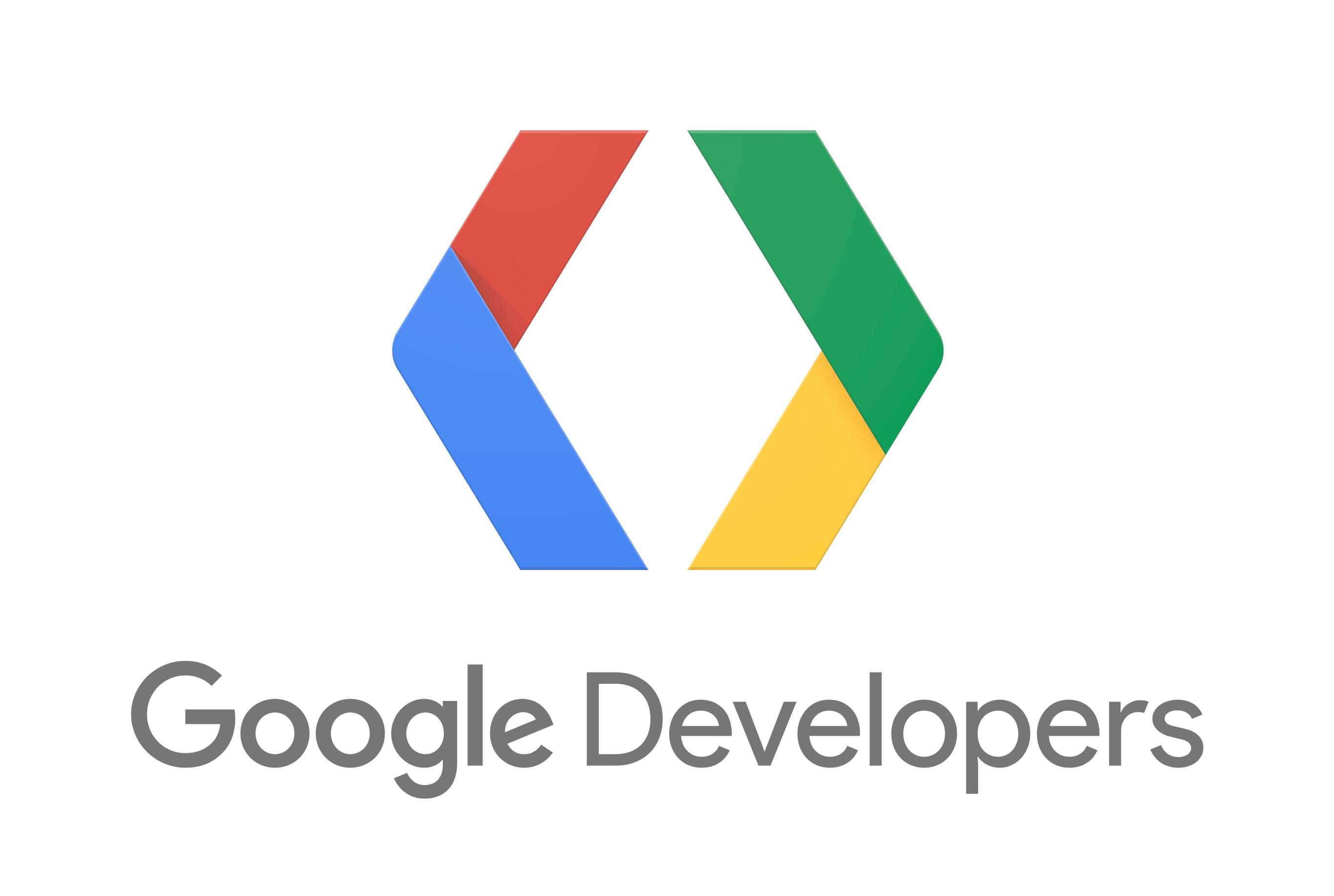 Google Developers Logo PNG - 100645