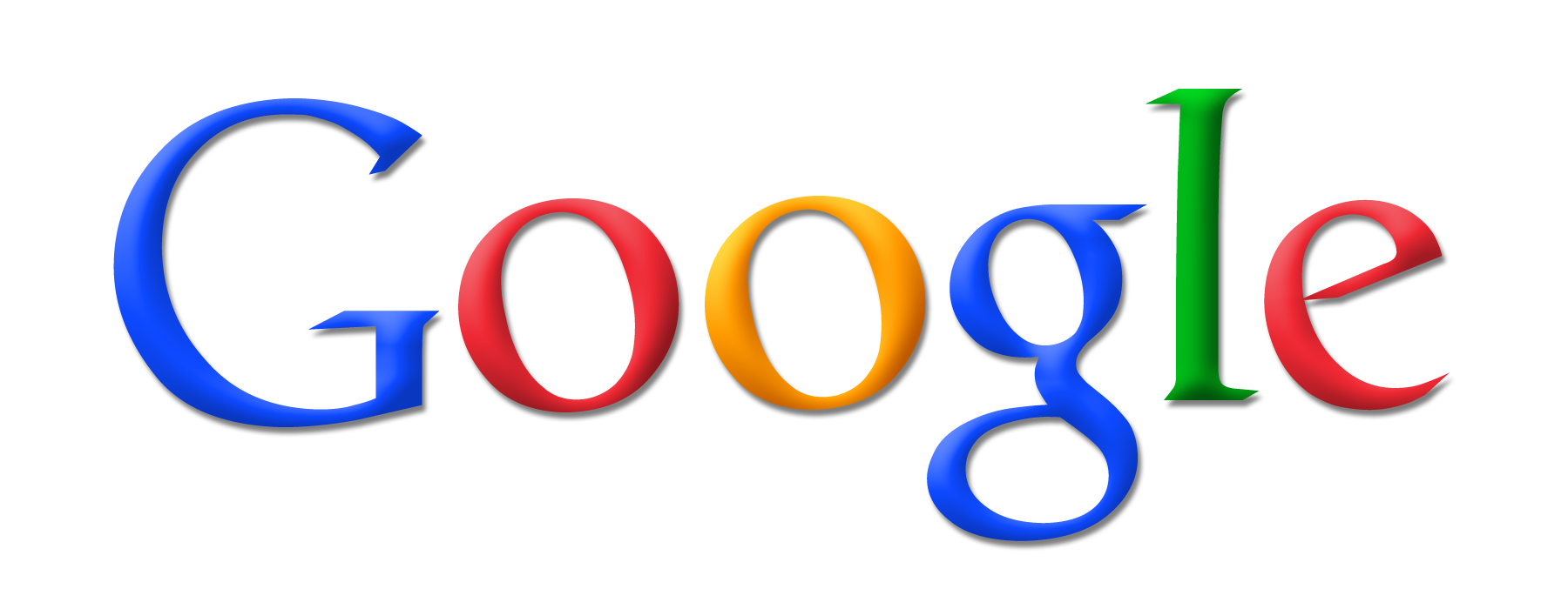 New Google logo - unofficial Google logo on transparent background - Google HD PNG