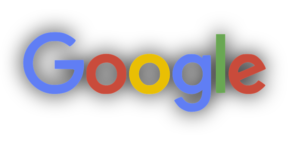 Google, Logo, Gölge - Google Logo PNG