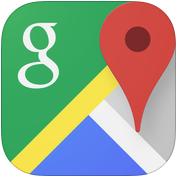 Google Maps App 3.png - Google Maps PNG