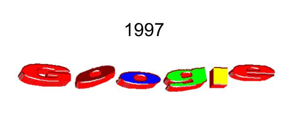 Google logo 1997 - Google Photos Logo PNG