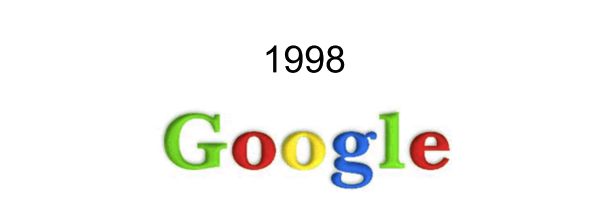Google logo 1998 - Google Photos Logo PNG