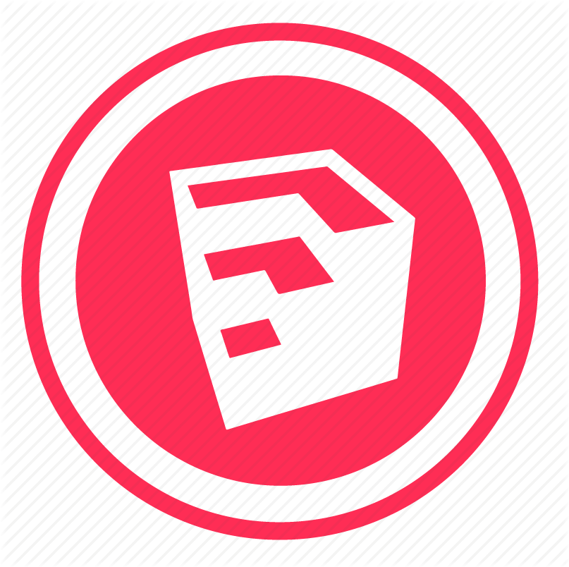 sketchup icon. Formats: PNG
