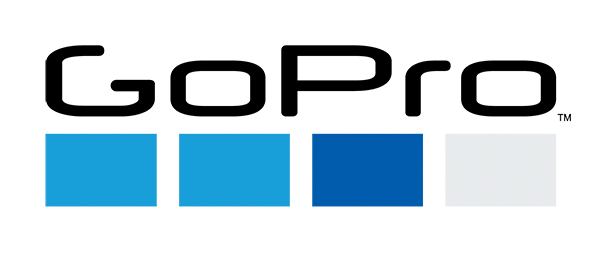 GoPro Hero 4 Black GoPro logo