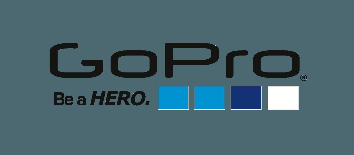 GoPro-Logo-White.png - Gopro PNG