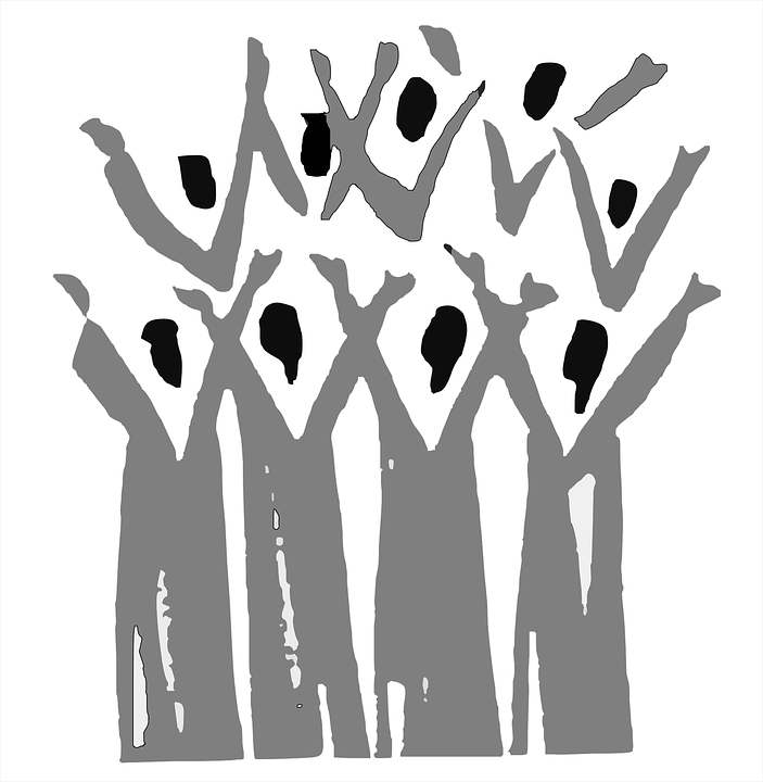 Choir, Gospel, People, Group,