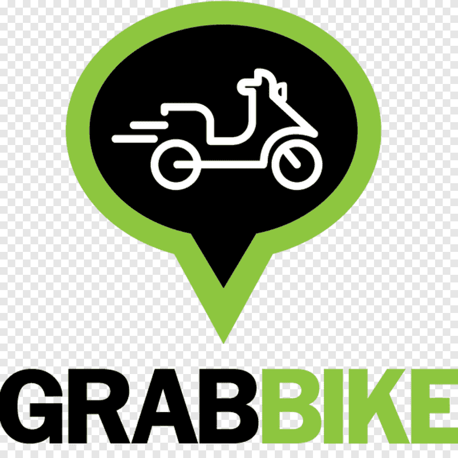 Grab Bike Logo Illustration, Grab Bike Motorcycle Taxi Grab Taxi Pluspng.com  - Grab Logo PNG