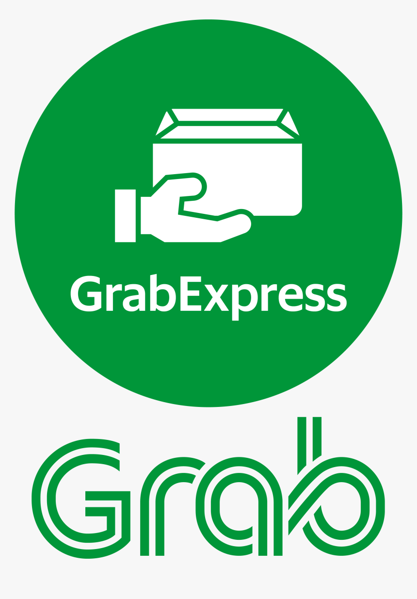 Grab Express Logo Png - Graphic Design, Transparent Png - Kindpng - Grab Logo PNG