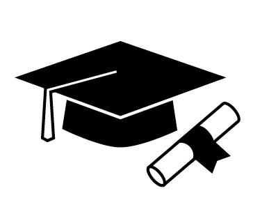 Graduation stuff - Graduation Cap PNG Black And White