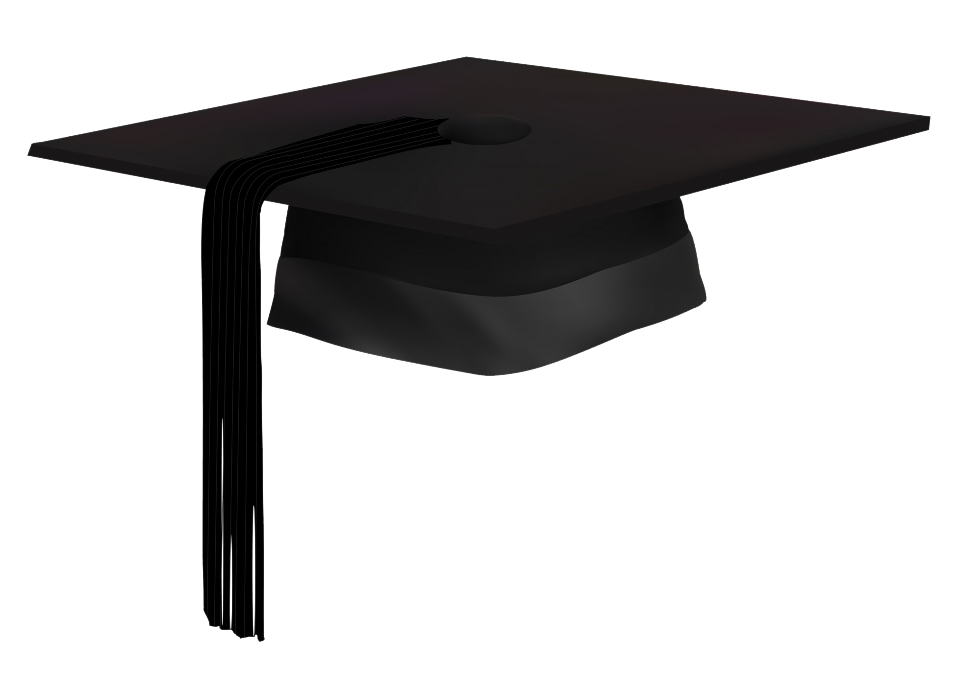 Graduation Hat PNG-PlusPNG.com-1950 - Graduation Hat PNG