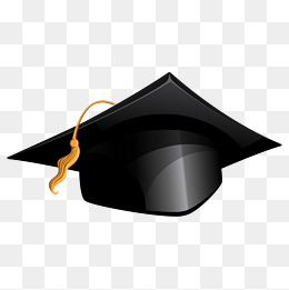 Bachelor graduate hat, SCHOOL, The University, Bachelor Degree PNG and  Vector - Graduation Hat PNG