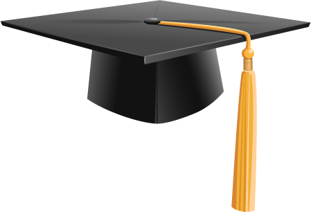 Graduation Hat PNG - 65347