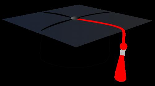Graduation Cap PNG Transparent Image - Graduation Hat PNG