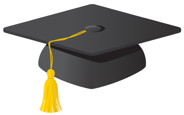 Resource Robot: Graduation Announcements - Clipart library - Clipart library - Graduation Hat PNG