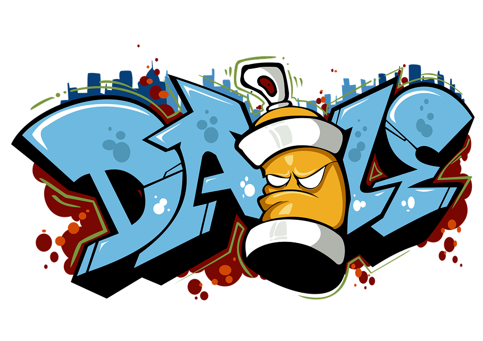 Graffiti, Street Plan, Vector Graphics - Graffiti PNG