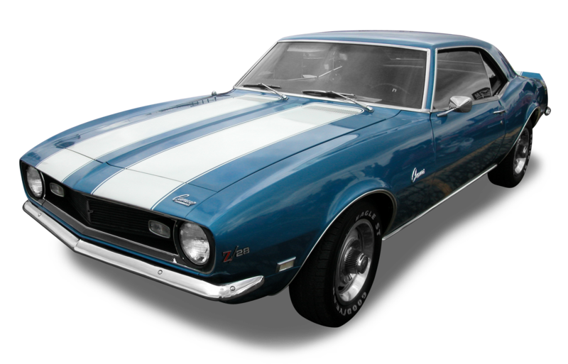 1968 Chevrolet Camaro Z28.png - Gran Turismo PNG