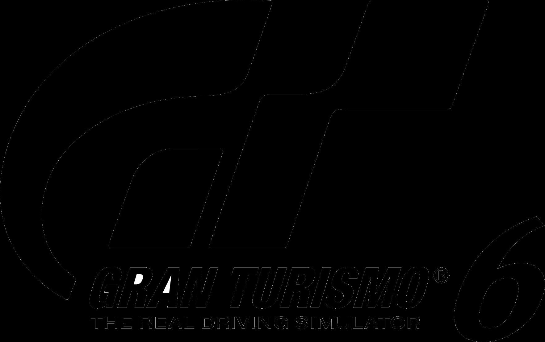 Gran Turismo 6 logo.png - Gran Turismo PNG