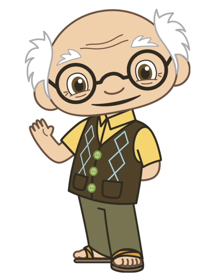 Yeye.png - Grandpa PNG HD