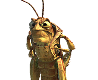 Hopper the grasshopper.png - Grasshopper PNG