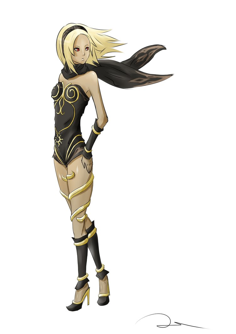 kat___gravity_rush_by_dorill-d6nzz49.png (752×1063) - Gravity Rush PNG