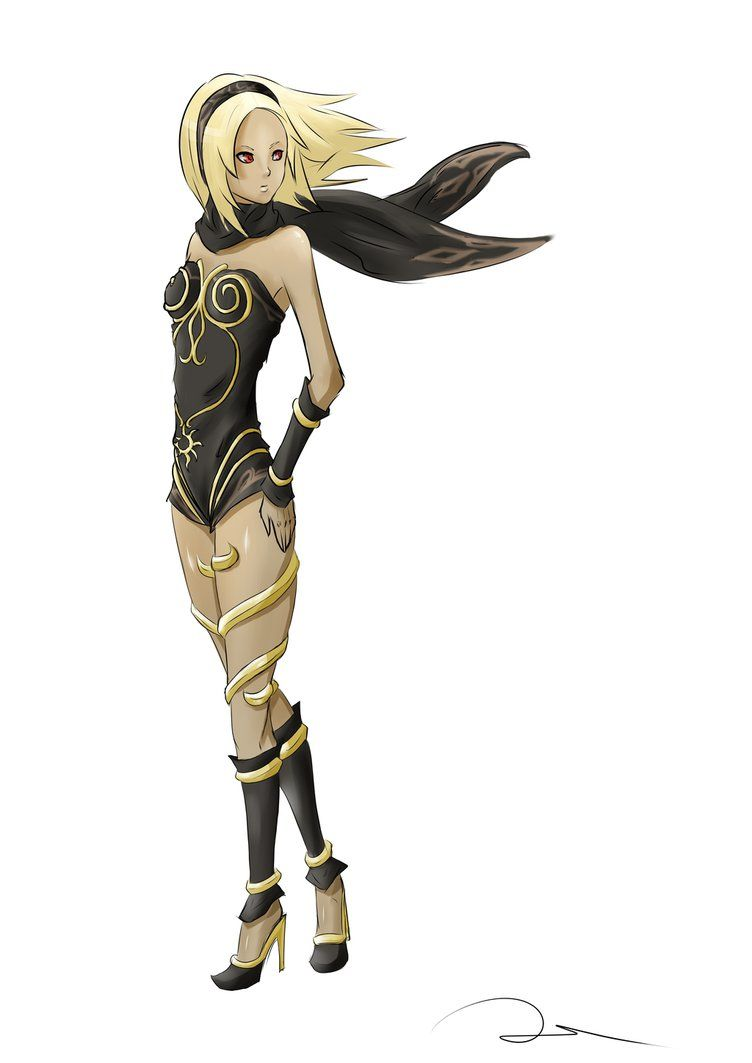 kat___gravity_rush_by_dorill-d6nzz49.png (752×1063) · Gravity Rush PlusPng.com  - Gravity Rush PNG