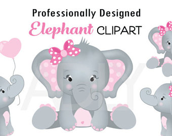Gray Baby Elephant PNG - 142998