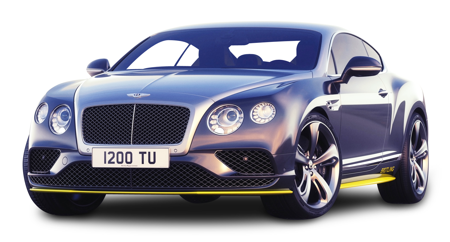 Gray Bentley Continental GT Speed Car PNG Image - Bentley PNG