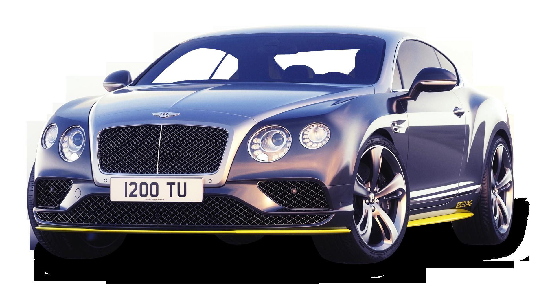 Gray Bentley Continental GT Speed Car PNG Image - Bentley PNG