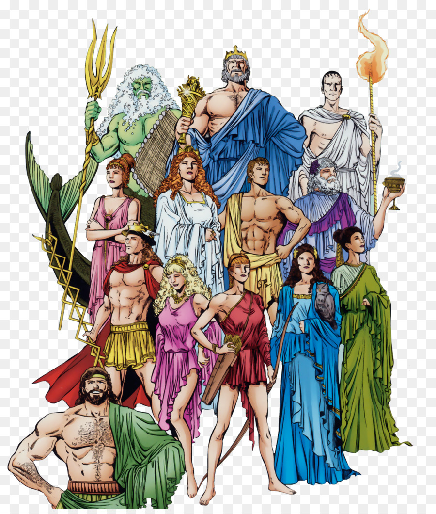 Zeus Ares Hera Ancient Greece Greek mythology - Goddess - Greek Mythology PNG HD