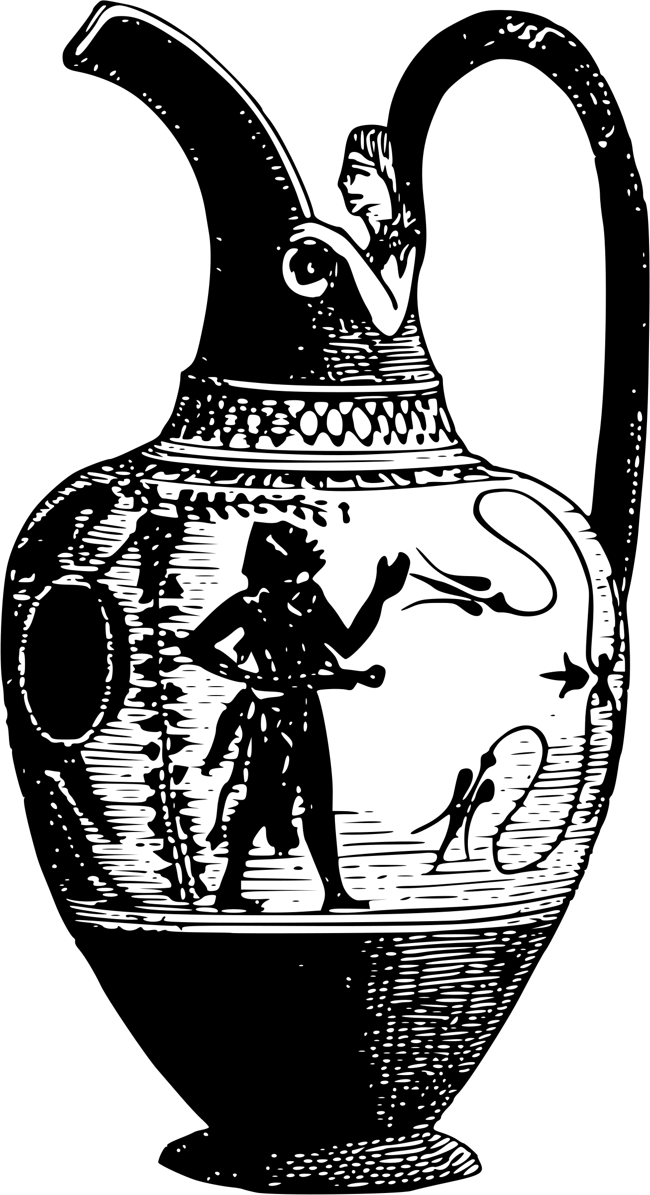 Greek Urn PNG - 80140
