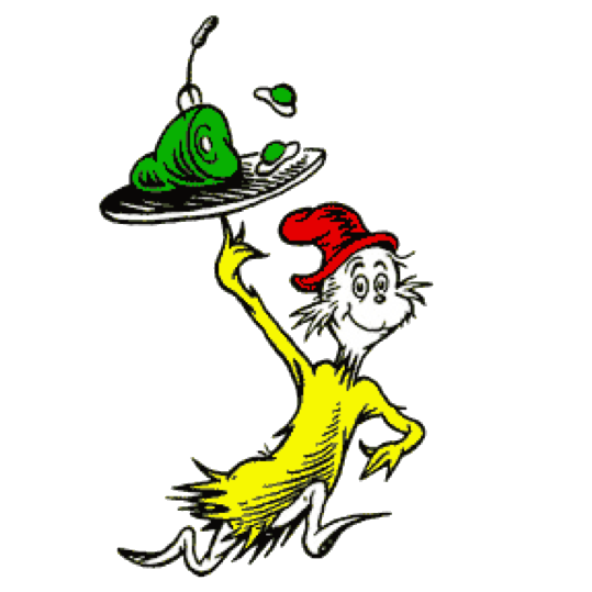 Green Eggs And Ham PNG - 50234
