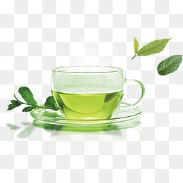 A cup of green tea · PNG - Green Tea PNG