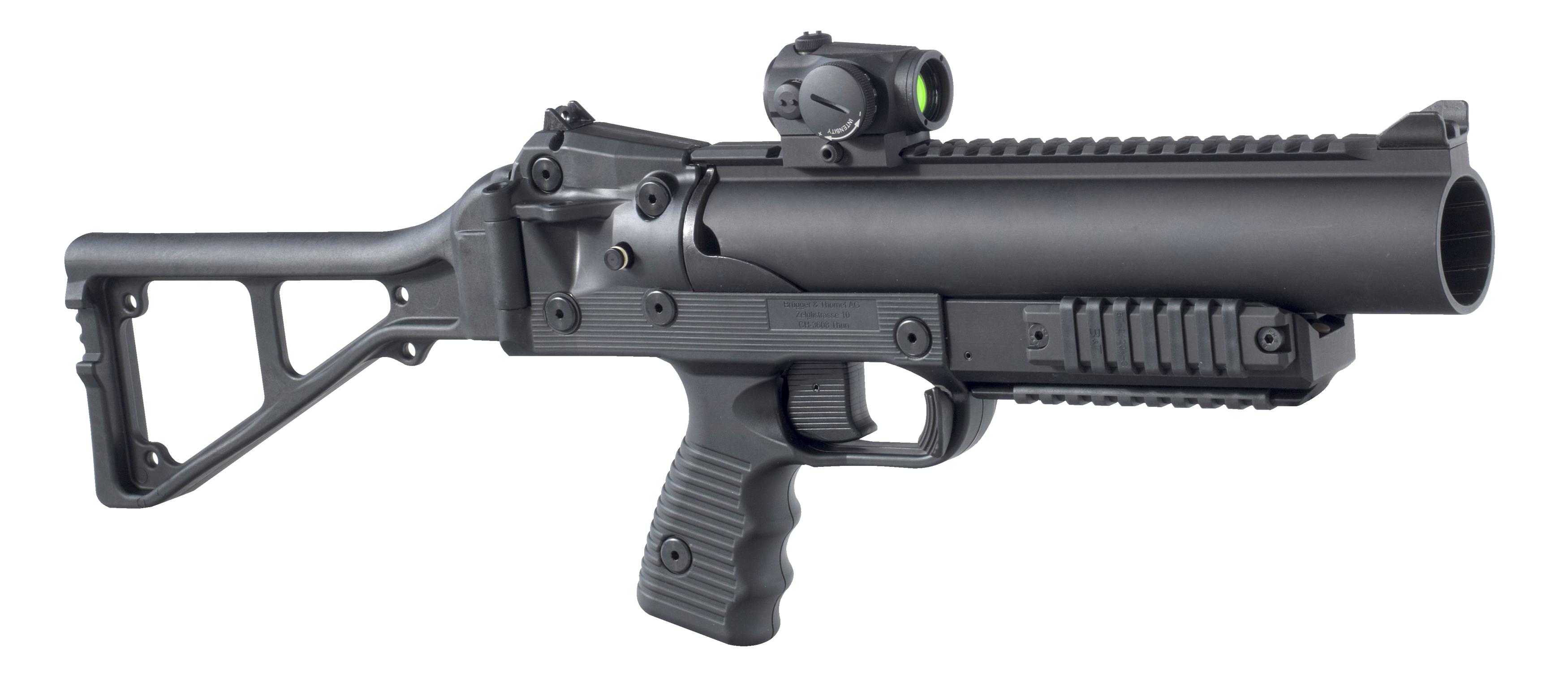 Grenade Launcher HD PNG-PlusPNG.com-3500 - Grenade Launcher HD PNG