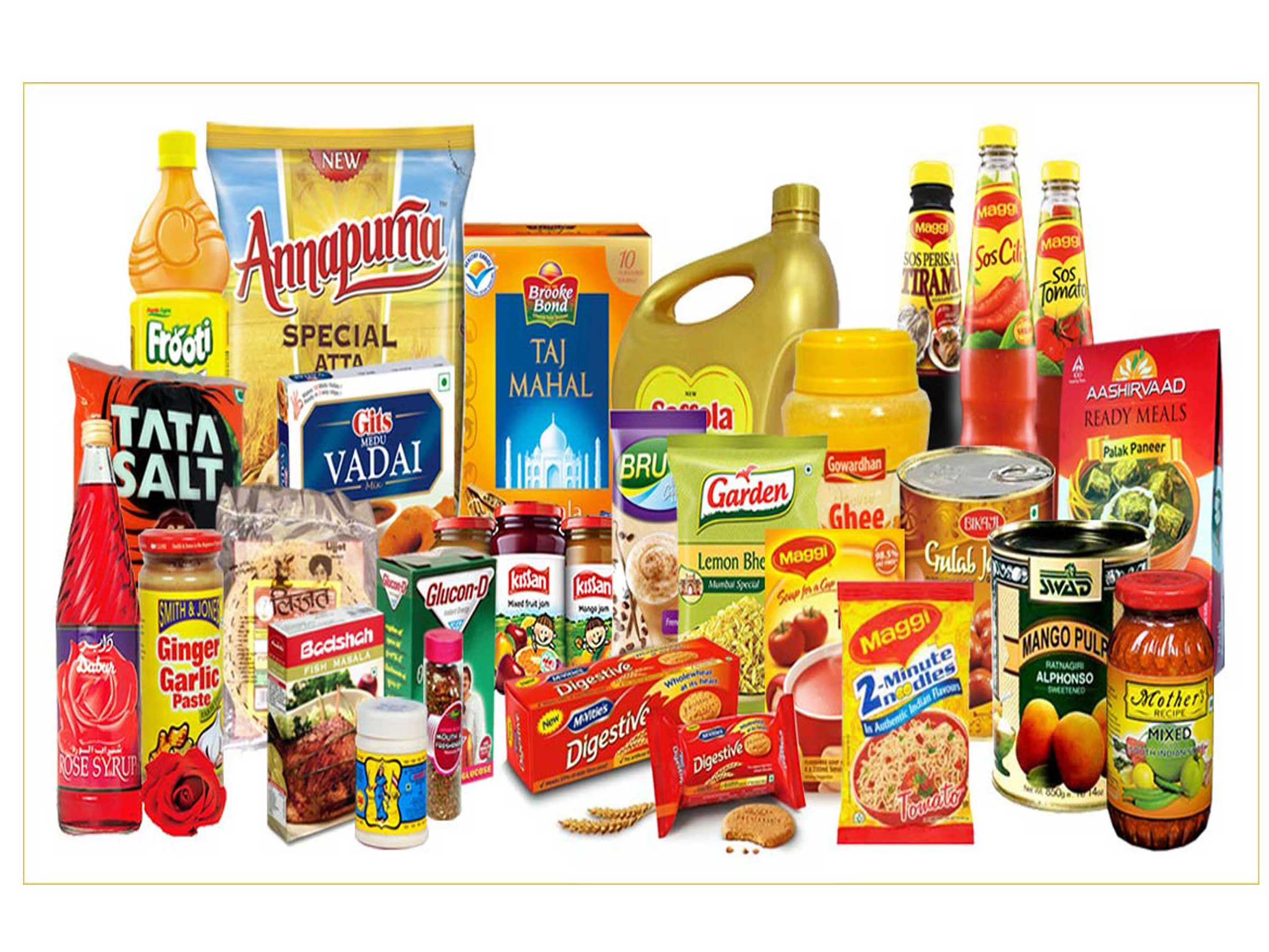 Grocery Items PNG - 70211