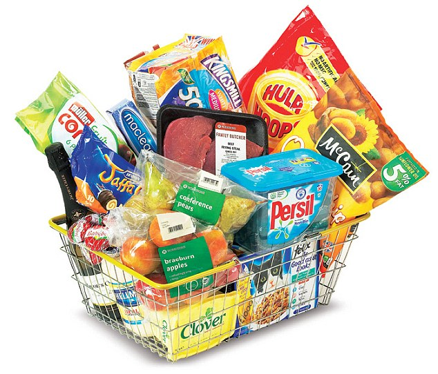 Grocery Items PNG - 70216