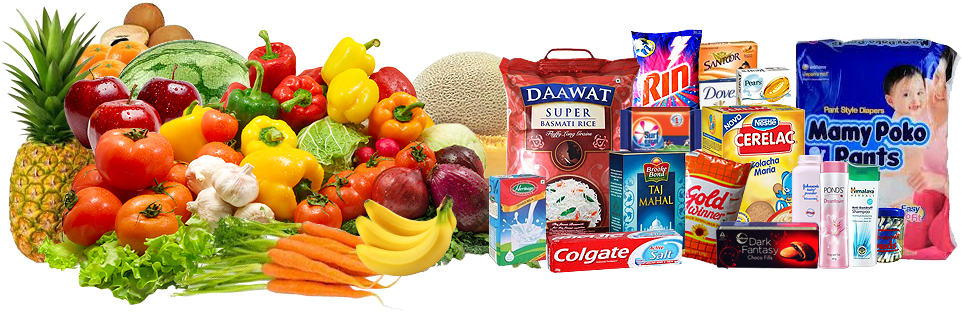 Supermarket New York - Grocery Items PNG