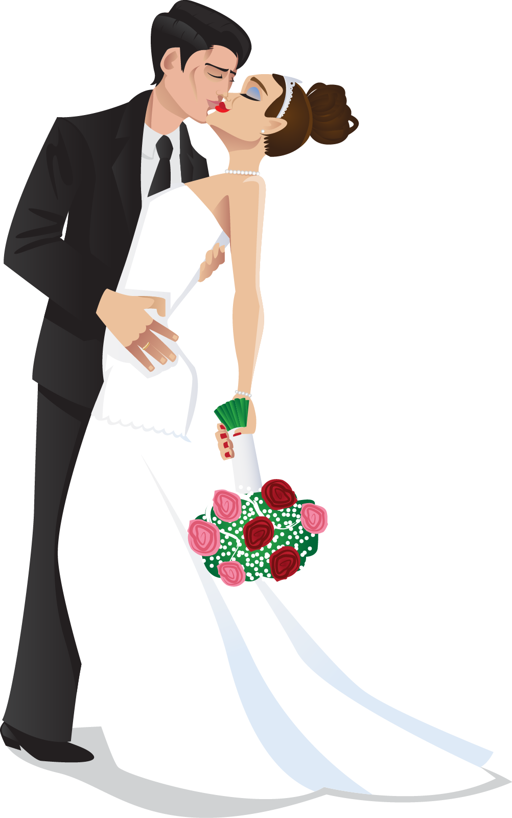 pin Wedding clipart bride and